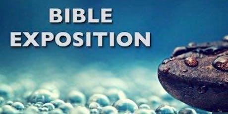Mega CMC Bible Exposition 2 tickets