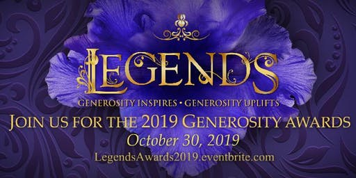 Legends: The Hospice of St. Francis Generosity Awards 2019