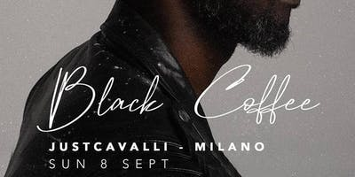 BLACK COFFEE Special Guest at Just Cavalli Milano for F1 Gp Monza Party
