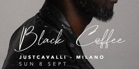 BLACK COFFEE Special Guest at Just Cavalli Milano for F1 Gp Monza Party biglietti