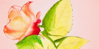 Flowers, Abstract and Landscape Watercolor Painting for Seniors