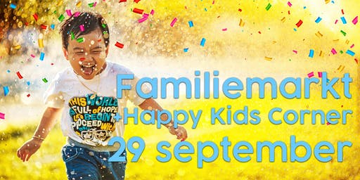 Utopia Happy Kids Familiemarkt (alle leeftijden) - 29 september 2019