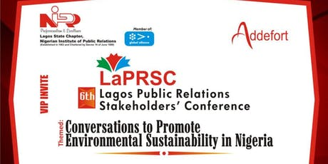 6th Lagos Public Relations Stakeholders' Conference tickets