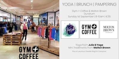 Molton Brown & Gym plus Coffee Yoga Morning. Collaboration with Julie B Yoga.
