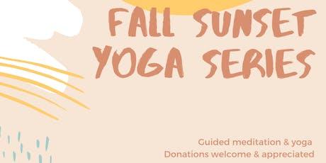 Fall Sunset Yoga Series tickets