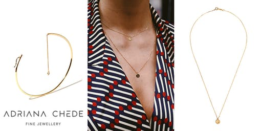 Meet the Maker +  Personalised Pendant Necklace