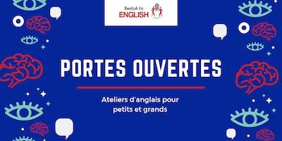 Portes ouvertes : Ateliers d'anglais (Gratuit)