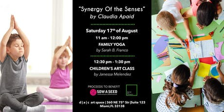 Family day with Children's Yoga & Art Exploitation Class tickets