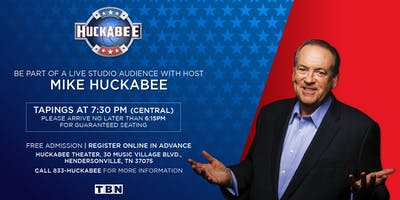 Huckabee - Friday, September 20