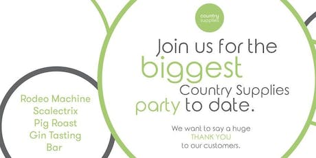 Country Supplies September Party tickets