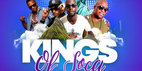 KINGS OF SOCA tickets