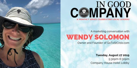 In Good Company with Wendy Solomon - August 2019 tickets