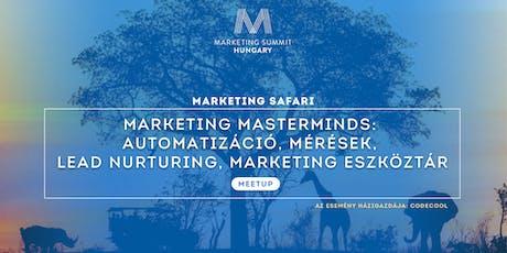 Marketing Masterminds - Meetup tickets