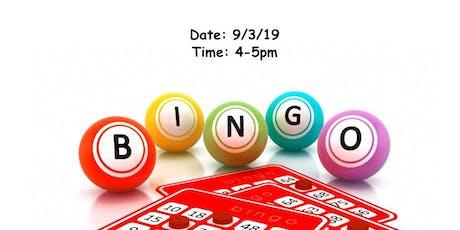 Back to School Bingo-FREE EVENT tickets