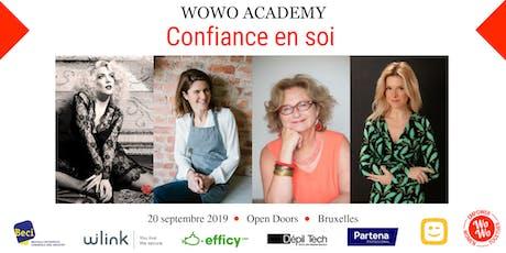 WoWo Academy - Confiance en soi - Bruxelles billets