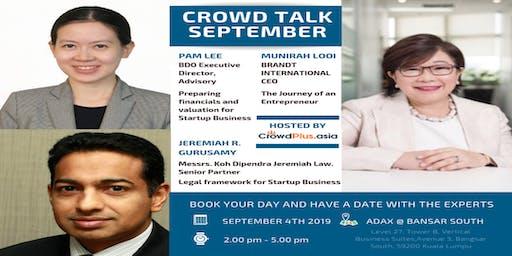 Crowd Talk September