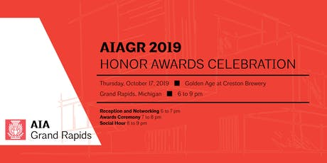 AIA Grand Rapids 2019 Honor Awards Celebration tickets