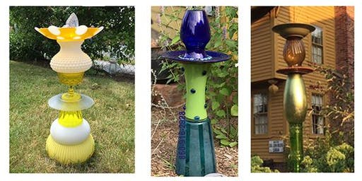 Glass Totem Birdfeeder/ Birdbath Workshop