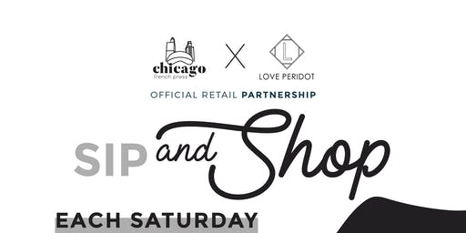 Sip & Shop at Love Peridot (Each Saturday)
