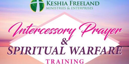Intercessory Prayer & Spiritual Warfare w/ Evangelist Keshia Freeland