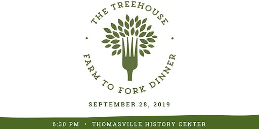 3rd Annual Farm to Fork Dinner hosted by The Treehouse