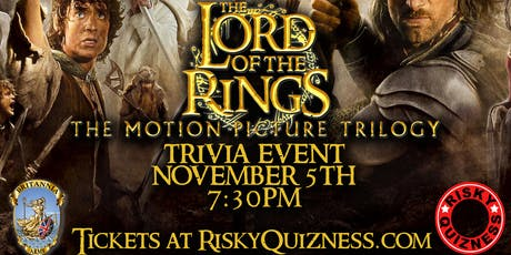 The Lord of the Rings Movie Trilogy Trivia Event! tickets
