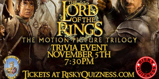 The Lord of the Rings Movie Trilogy Trivia Event!