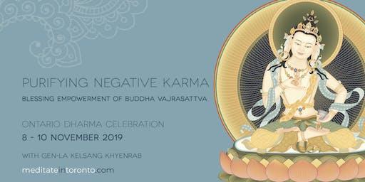 Ontario Dharma Celebration 2019 - Vajrasattva Empowerment