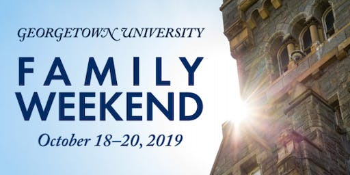 Georgetown University Family Weekend 2019