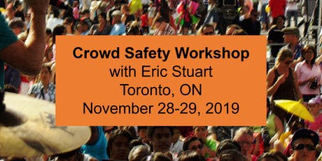 Crowd Safety Workshop - Toronto tickets