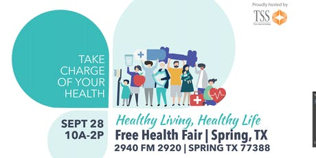 Healthy Living, Healthy Life - Free Health Fair tickets