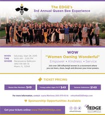 The EDGE's Queen Bees 3rd Annual Queen Bee Experience tickets