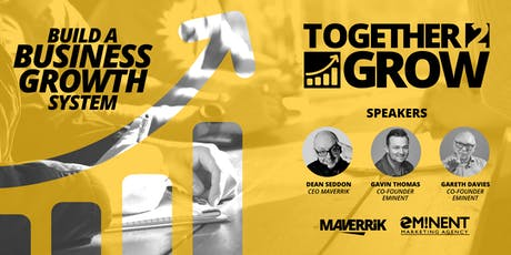 TOGETHER2GROW - Build your business growth system. tickets