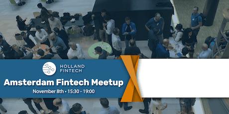 Holland FinTech Amsterdam MeetUp: November tickets