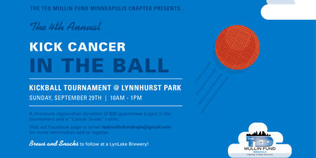 4th Annual TMF Kick Cancer in the Ball Kickball Tournament tickets