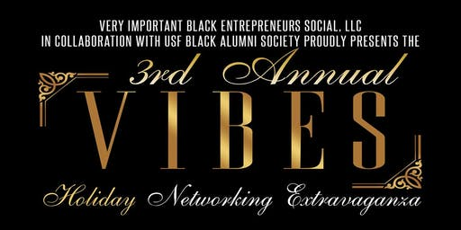 3rd Annual V.I.B.E.S. Holiday Networking Extravaganza