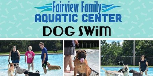 Fairview Family Aquatic Center Dog Swim