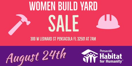 2019 Women Build Yard Sale tickets