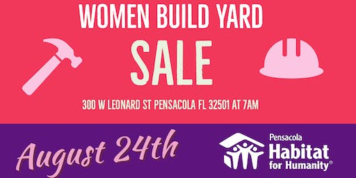 2019 Women Build Yard Sale