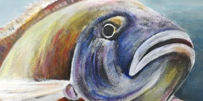 Painting for Beginners - Fish & Nautical Things (5x week course)