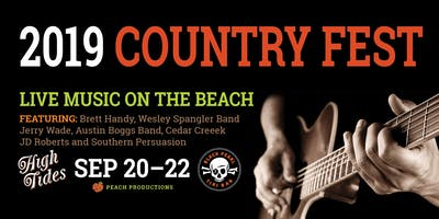 2019 COUNTRY FEST: Live Music on the Beach!