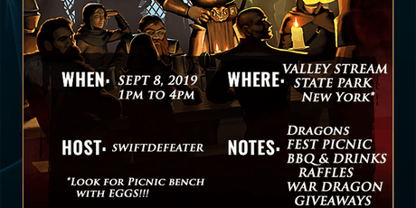 War Dragons Dragons Fest - Valley Stream, NY tickets