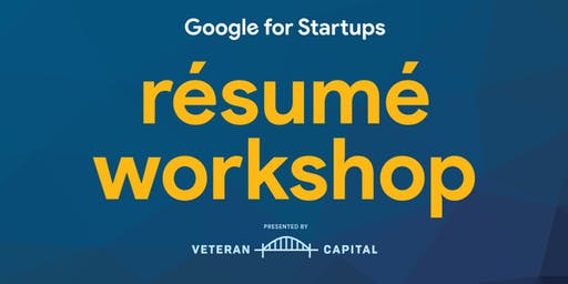 Google for Startups Resume Workshop