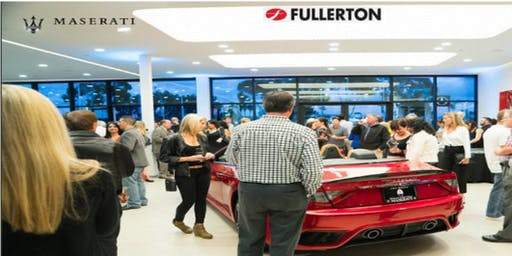 Professionals Networking at Maserati & Alfa Romeo by Fullerton Auto Group