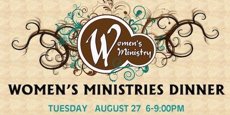 FIRST BAPTIST CHURCH DERIDDER - WOMEN'S MINISTRIES DINNER tickets