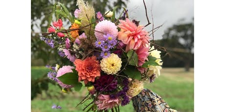 Learn to make a wild and wonderful hand-tied bouquet tickets