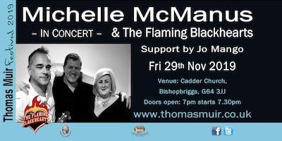 MICHELLE MCMANUS & THE FLAMING BLACKHEARTS