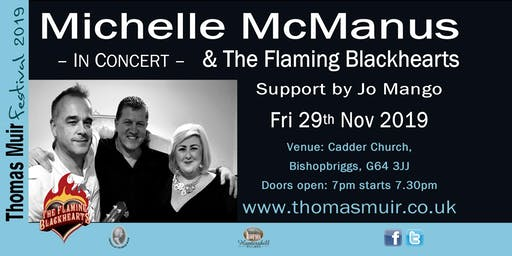 MICHELLE MCMANUS & THE FLAMING BLACKHEARTS