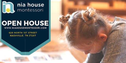 NIA HOUSE MONTESSORI OPEN HOUSE 2019