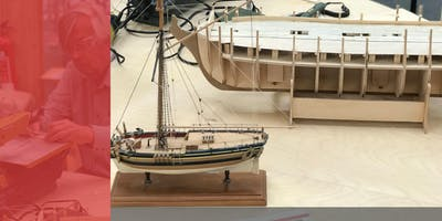 Cardiff Store - Model Boat Building With John Gittins